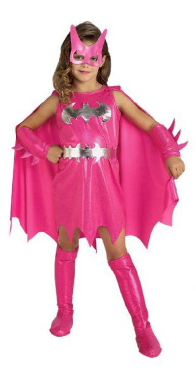 Batgirl Pink Superhero Toddler Girls Costume