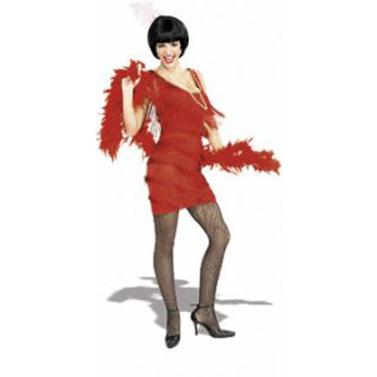 Flapper - 1920 Womens Costumes - Red