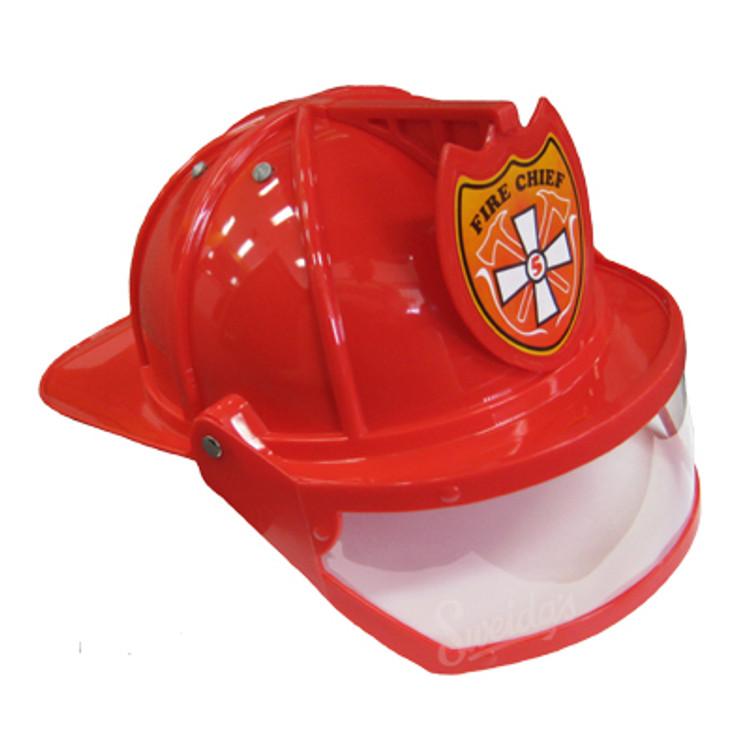 Fireman Chief Helmet w Visor