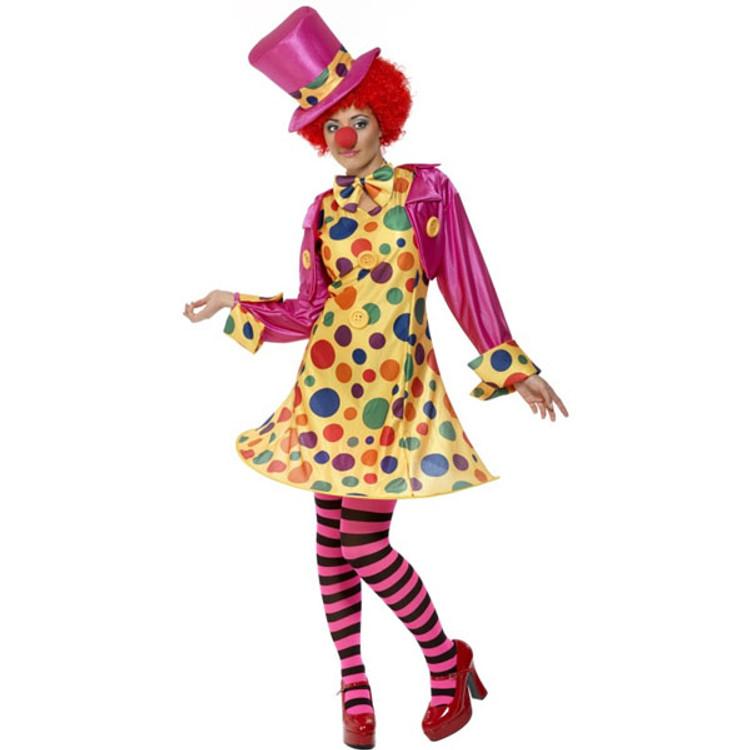 Clown Women Costume