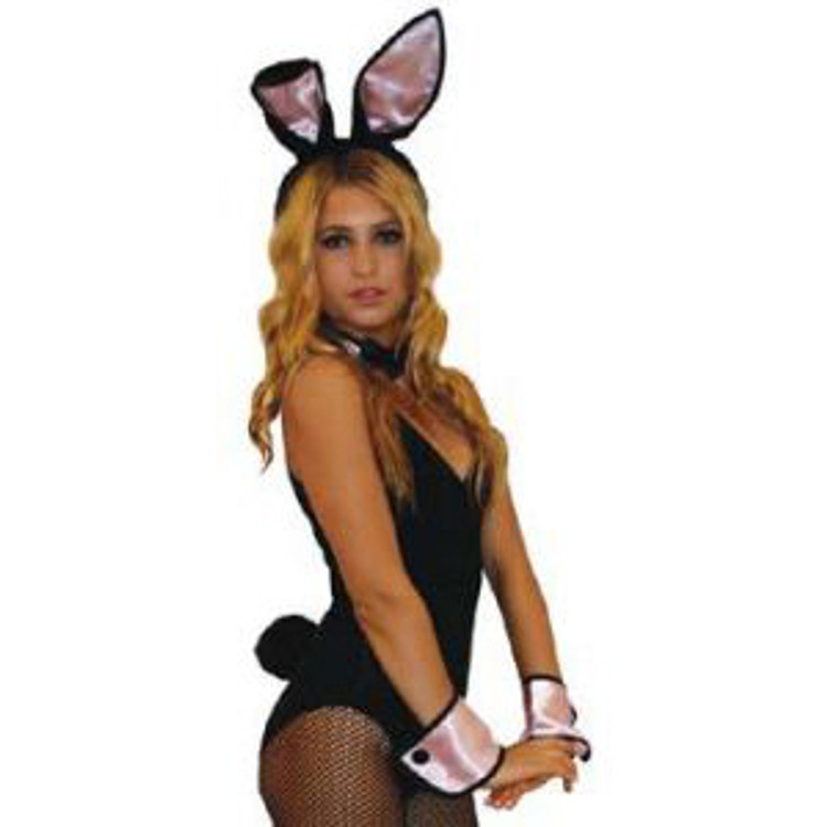 Bunny Kit- Black and Pink Womens Costumes