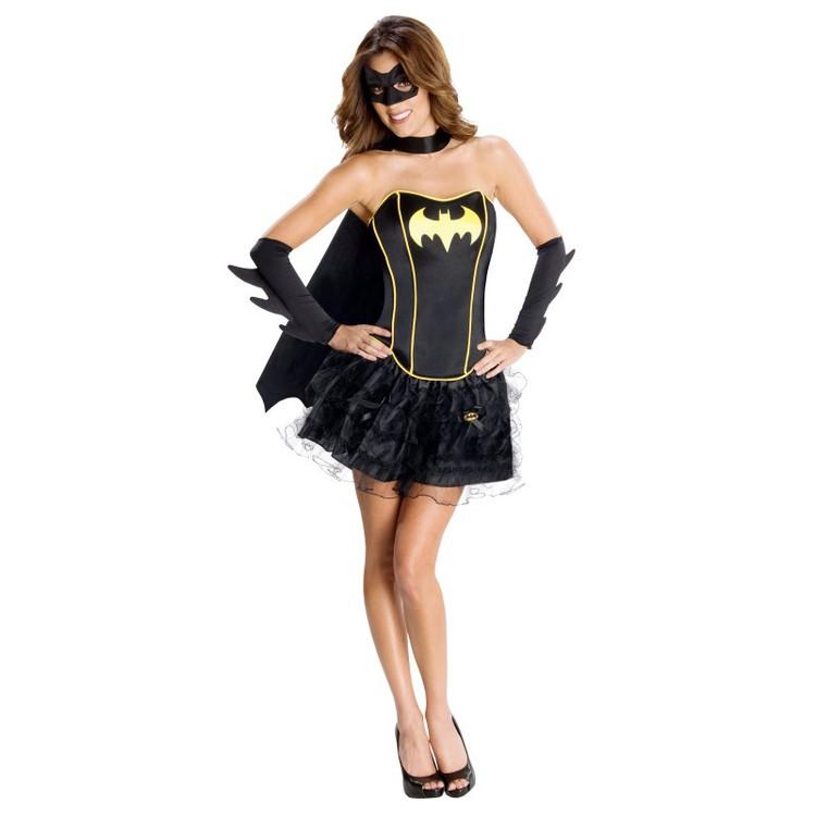 DC Comics Secret Wishes Batgirl Corset Adult Costume