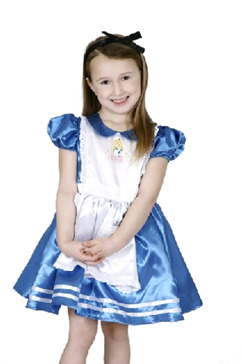 Alice In Wonderland Premium Girls Costume