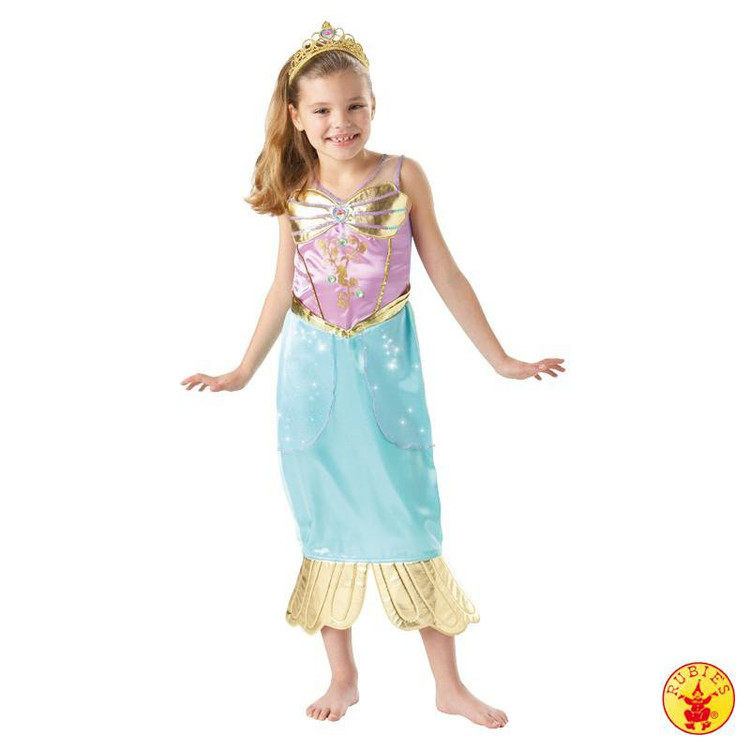 Ariel The Little Mermaid Sparkle Girls Costume