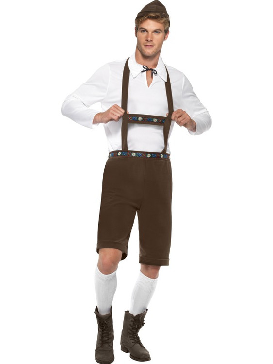 Bavarian German Man Costume
