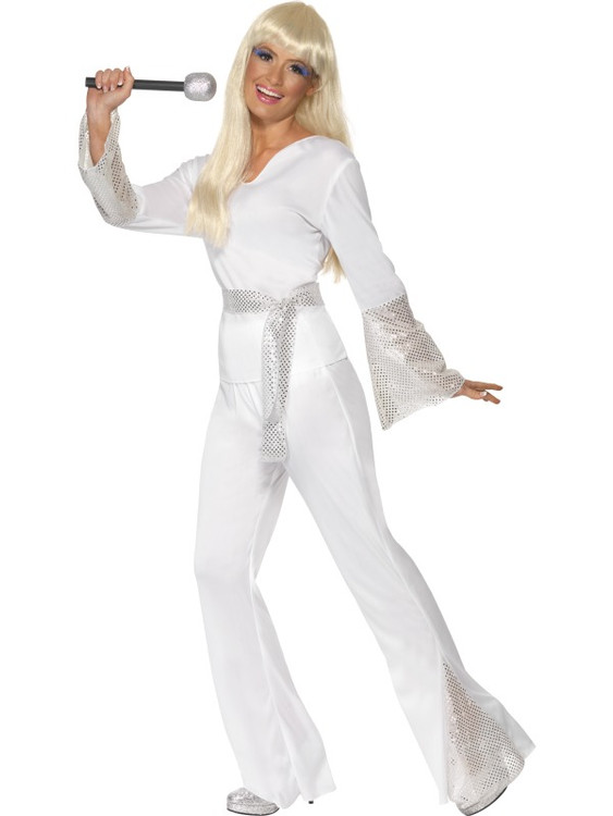 70S Disco Lady Costume Womens Costume
