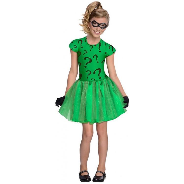 Batman - Riddler Tutu Girls Costume