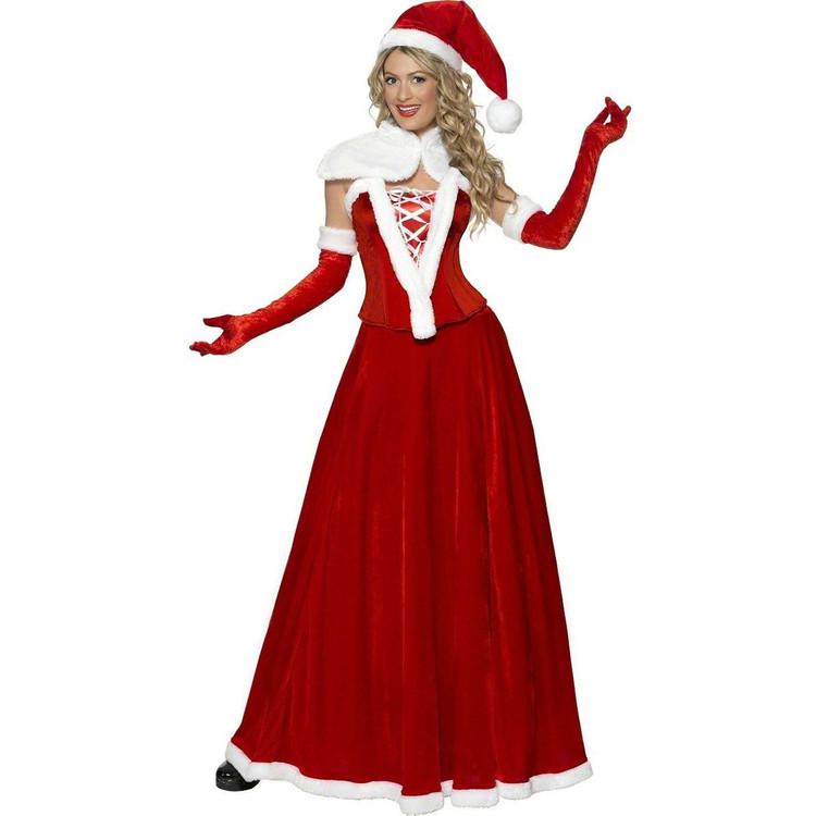 Miss Santa Christmas Luxury Womens Costume