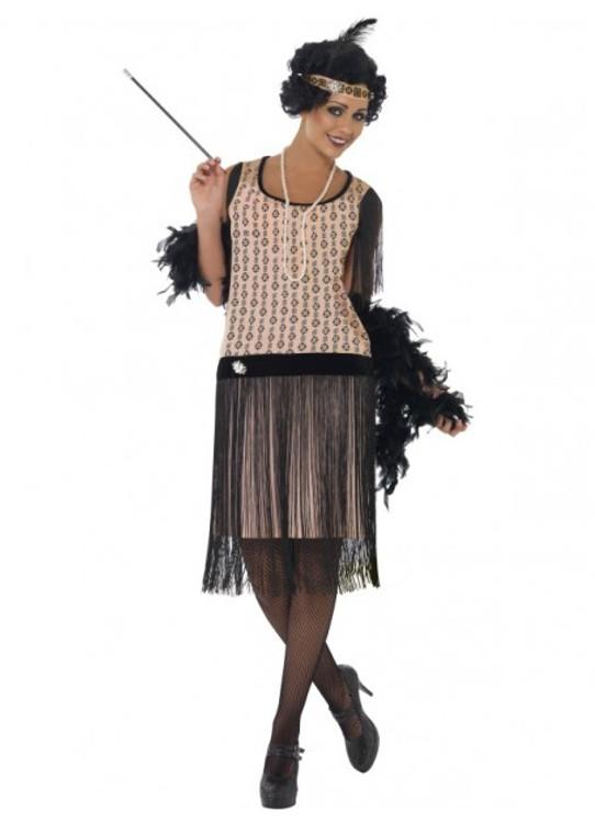 1920s Coco Flapper Women's Costume