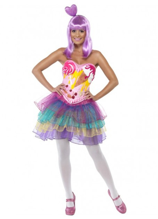 Katy Perry California Girls Women's Costume