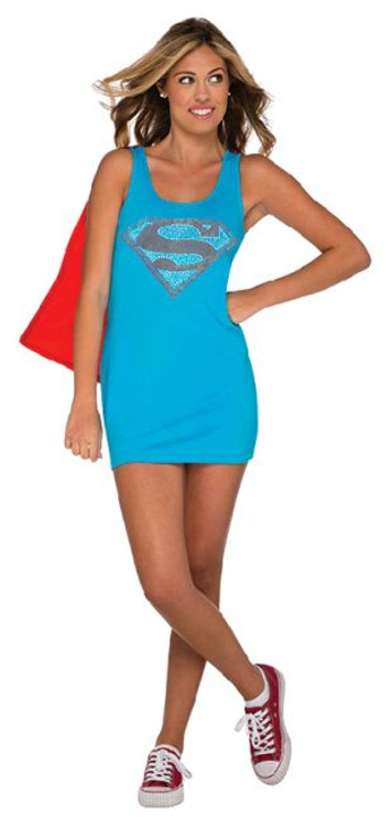 Super girl Teen Tank Dress Costume
