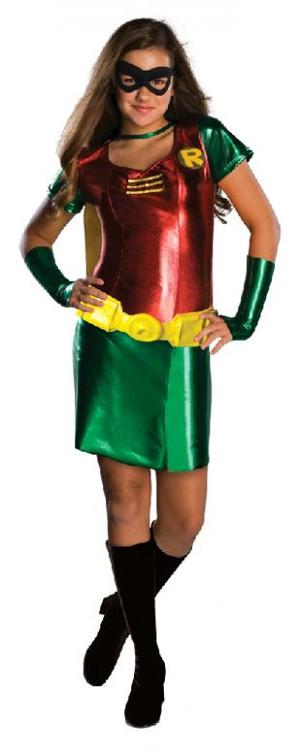 Robin Teen Titan Tween Girls Costume