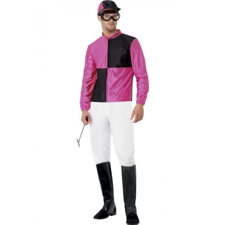 Jockey Horse Riding Male Costume