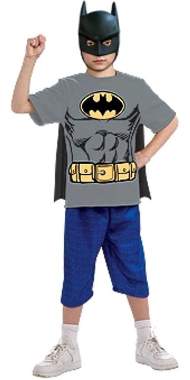 Batman T Shirt Boys Costume