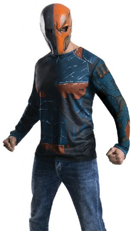 Deathstroke Mens Shirt Costume
