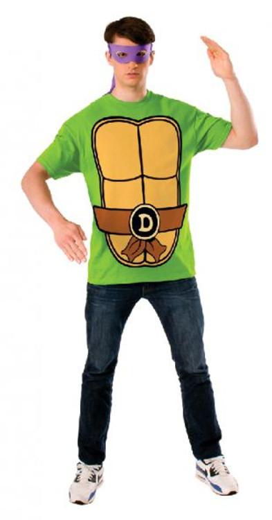 Teenage Mutant Ninja Turtles - Donatello Teashirt Mens Costume