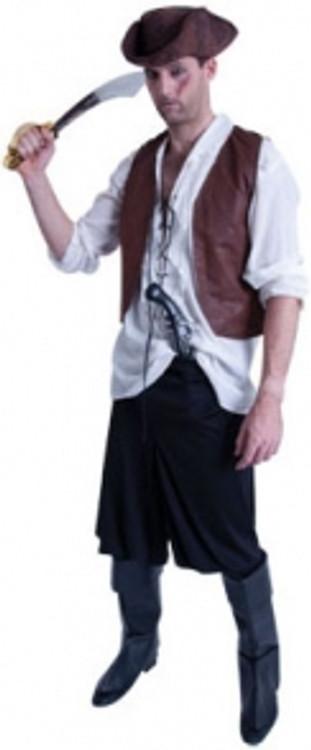 Pirate Caribbean Male Costume