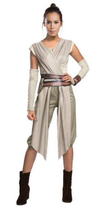 Star Wars - The Force Awakens Rey Deluxe Womens Costume
