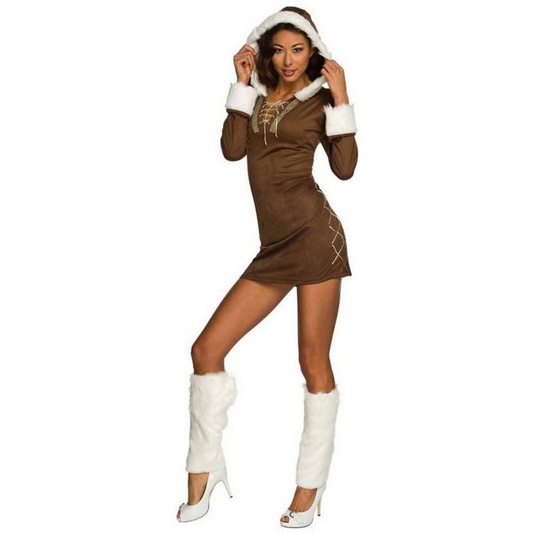 Christmas Eskimo Womens Costume