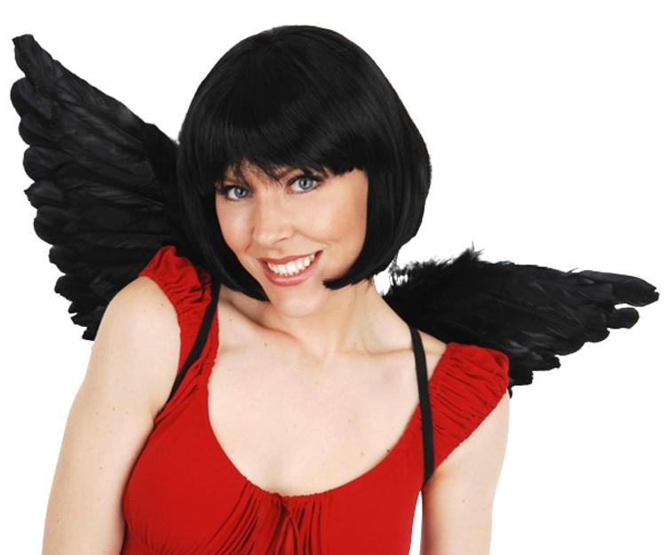 Angel & Fairy Wings Medium Black