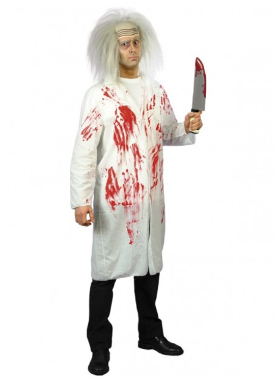 Doctor's Coat with Blood Costume