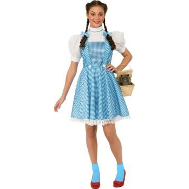 Wizard of Oz - DOROTHY HALLOWEEN SENSATIONS Womens Costume