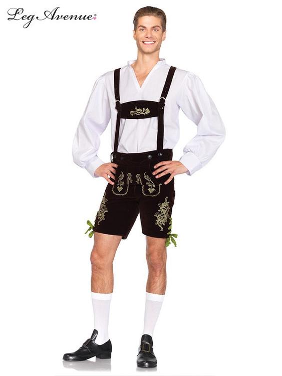 Oktoberfest Lederhosen Mens Costume