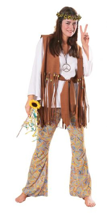 1960's Hippie Love Child Womens Costume