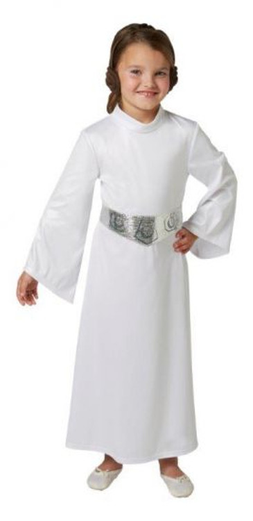 Star Wars - Princess Leia Deluxe Girls Costume