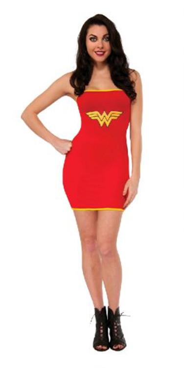 Wonder Woman Adult Tube Dress