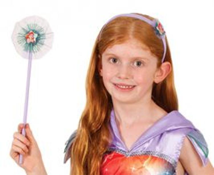 Little Mermaid Ariel Headband & Wand Set
