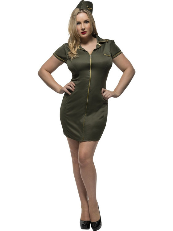 Army Plus Size Womens Costume