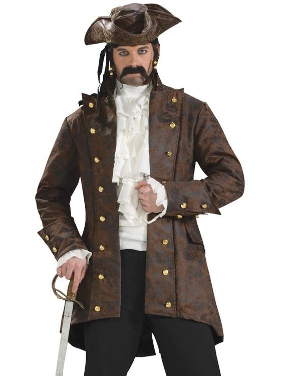 Pirate - Buccaneer Jacket Mens Costume
