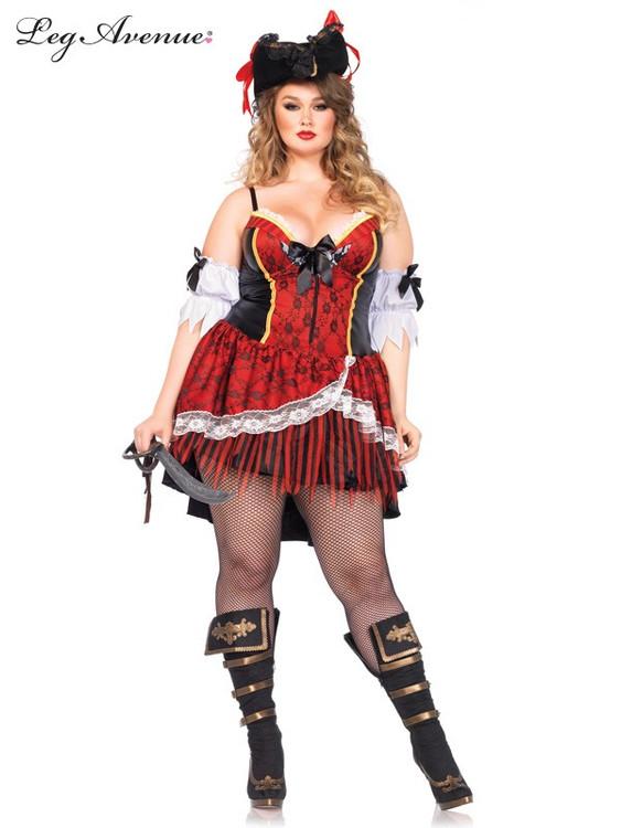 Pirate Plus Size Womens Costume