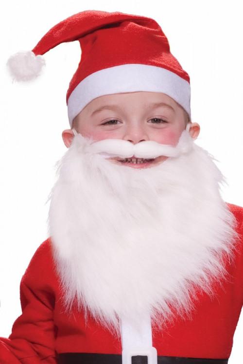 Christmas Child Santa Beard & Moustache