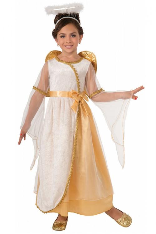 Angel Golden Toddler Girls Costume
