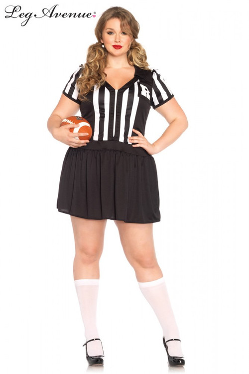 Referee Halftime Hottie Womens Costume