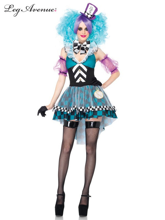 Alice in Wonderland Manic Mad Hatter Womens Costume