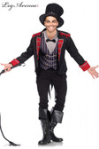 Sinister Ring Master Mens Costume