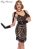 Flapper 1920s Speakeasy Sweetie Dress