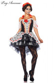 Sugar Skull Senorita Womens Costume
