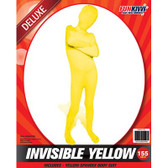 Invisible Yellow Kids Costume