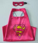 Supergirl Superhero Cape & Mask