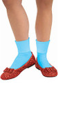 Dorothy Wizard of Oz Adult Slippers
