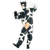 Cow Comical Onesie Costume
