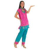 Bollywood Leading Lady Pink Womens Costume