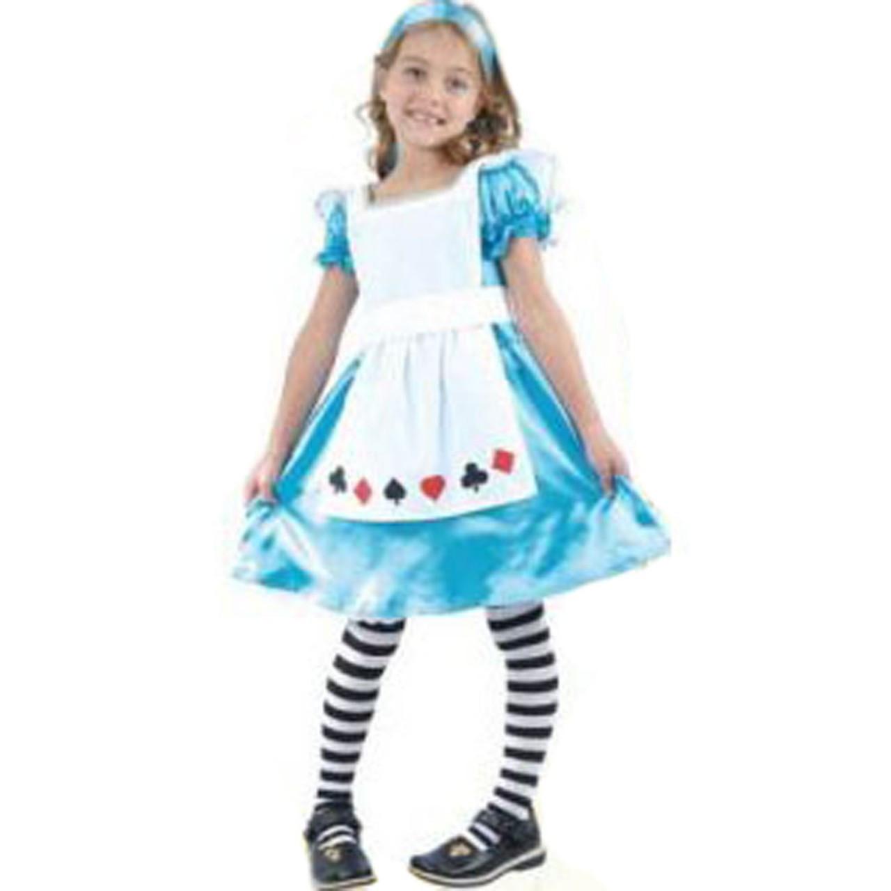 alice in wonderland girls costume. Black Bedroom Furniture Sets. Home Design Ideas