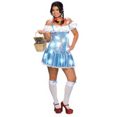 Dorothy Wizard of OZ Plus Size Womens Costume