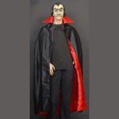 Vampire Adult Cape - Reversible