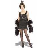 Flapper - 1920's Womens Costumes - Black